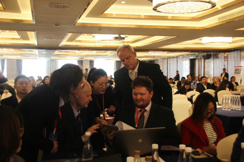 第三届中欧中小企业合作对洽会现场对接